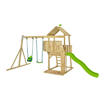 Kingswood Tudor Wooden Swing Set & Slide