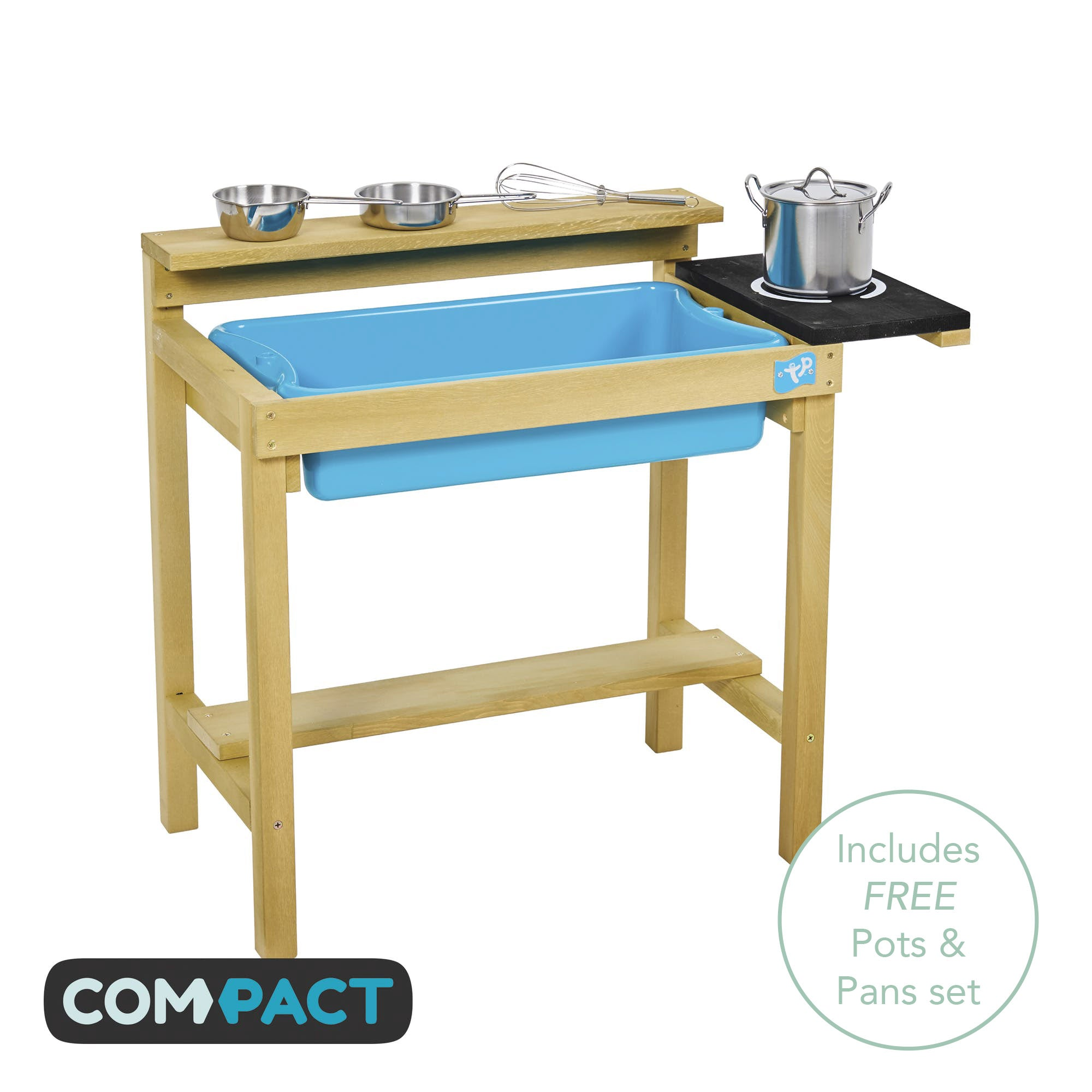 Early Fun Wooden Mud Kitchen