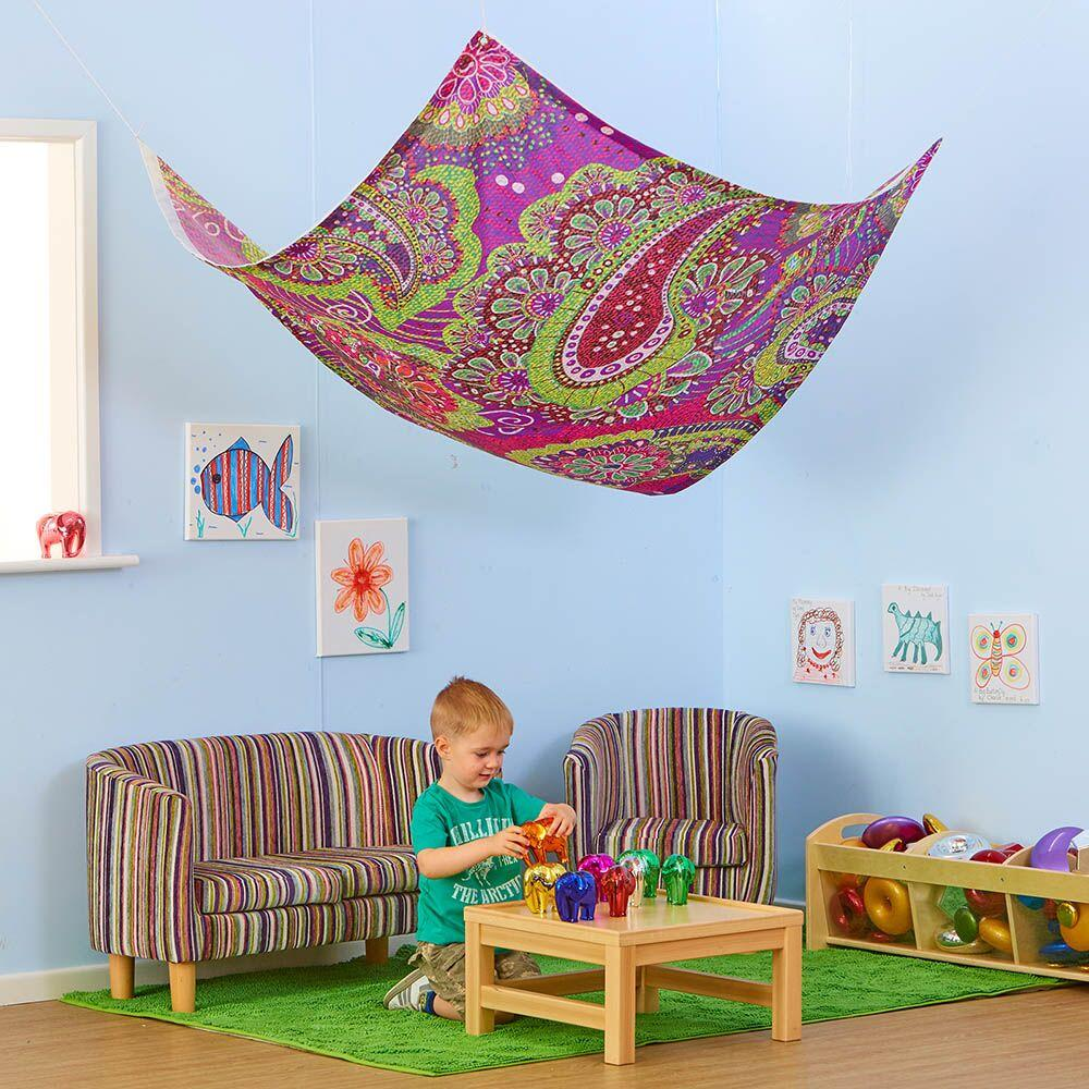 Creative Patterned Fabric Canopies