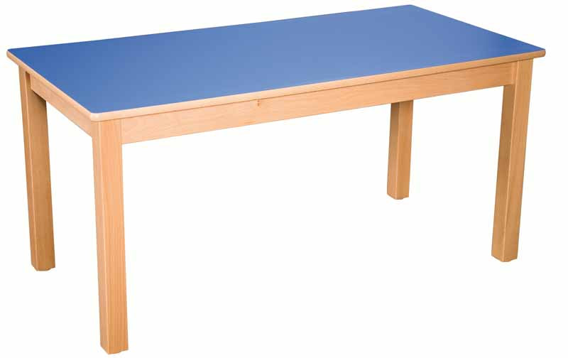Rectangular Table All Heights & All Colours