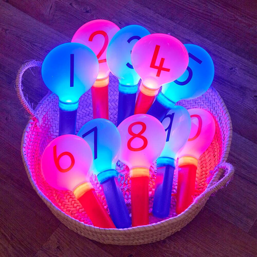 Glow Numbers