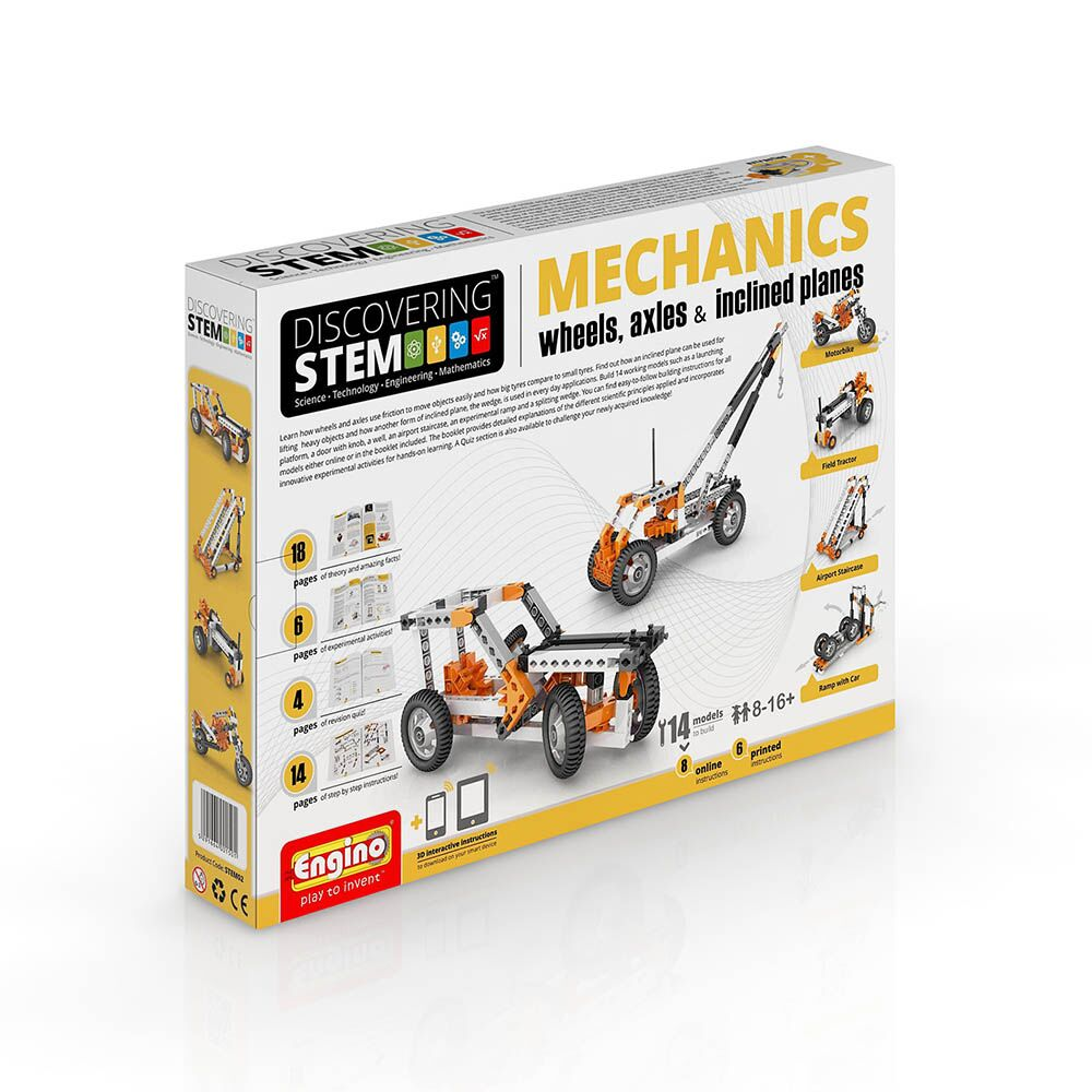 Wheels, axles & Inclined planes: STEM Mechanics
