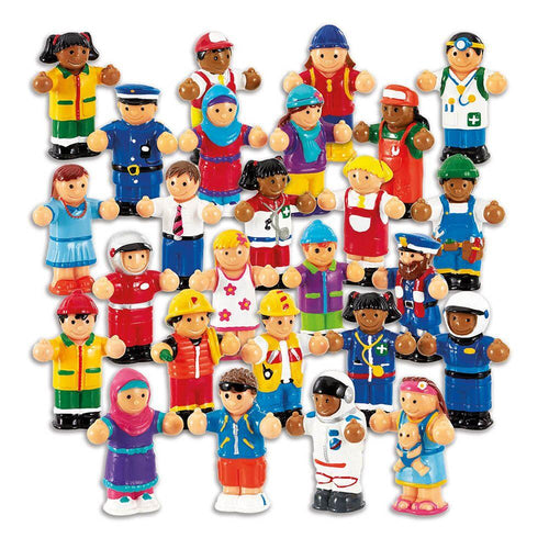 WOW World People Figure Set 26pk