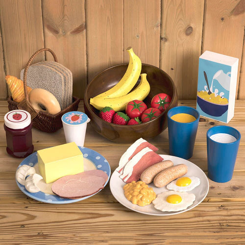 Role Play Breakfast Food Set