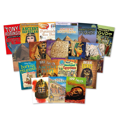 The Ancient Egyptians Books 20pk