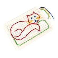 Pattern Lacing & Threading Boards 4pk