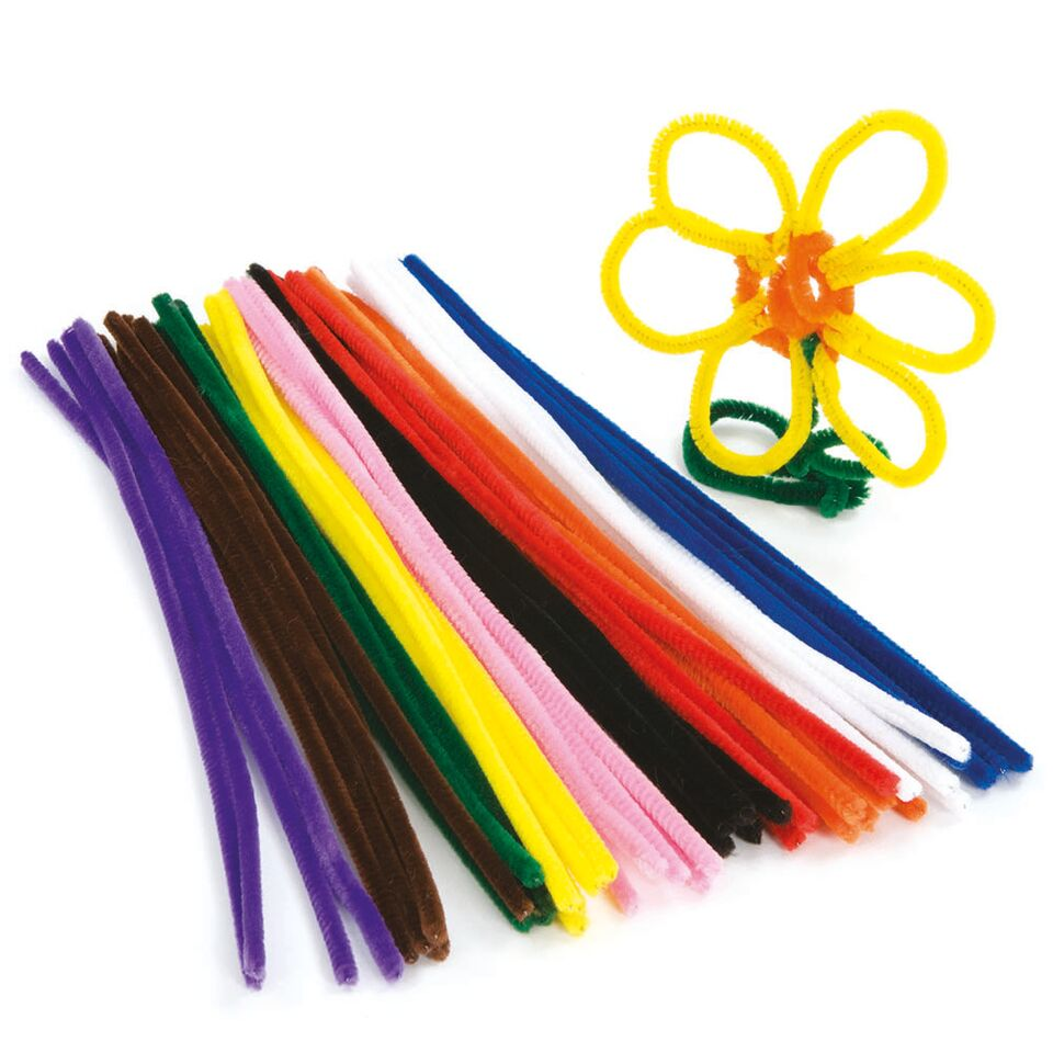 Pipe Cleaners 30cm 100pk