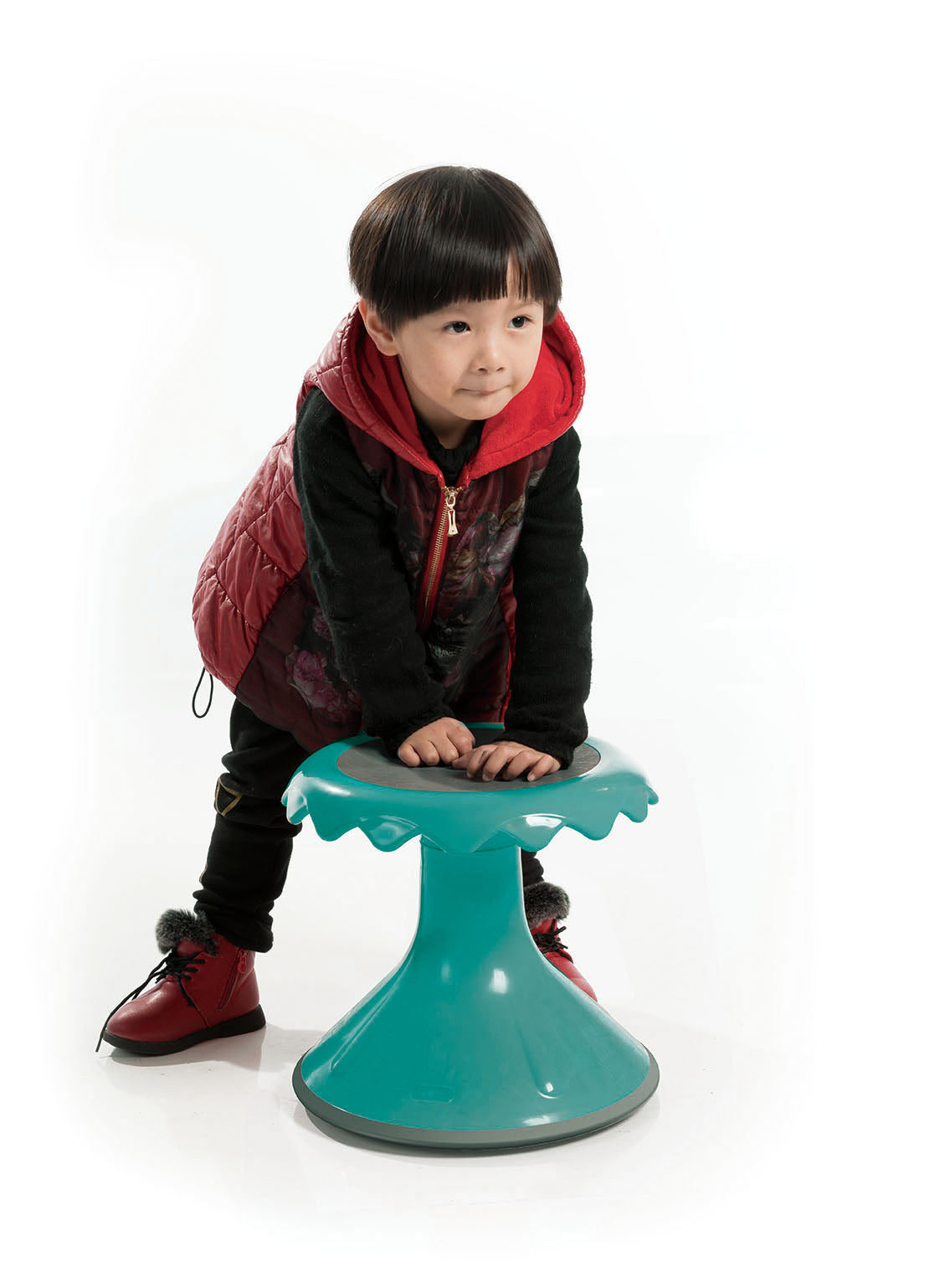 Wobble Stool - 37cm - Green