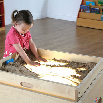 Wooden Sand Tray Top for Lightbox