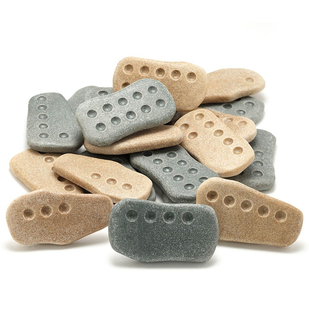 Tactile Counting Stones 1-10 20pcs