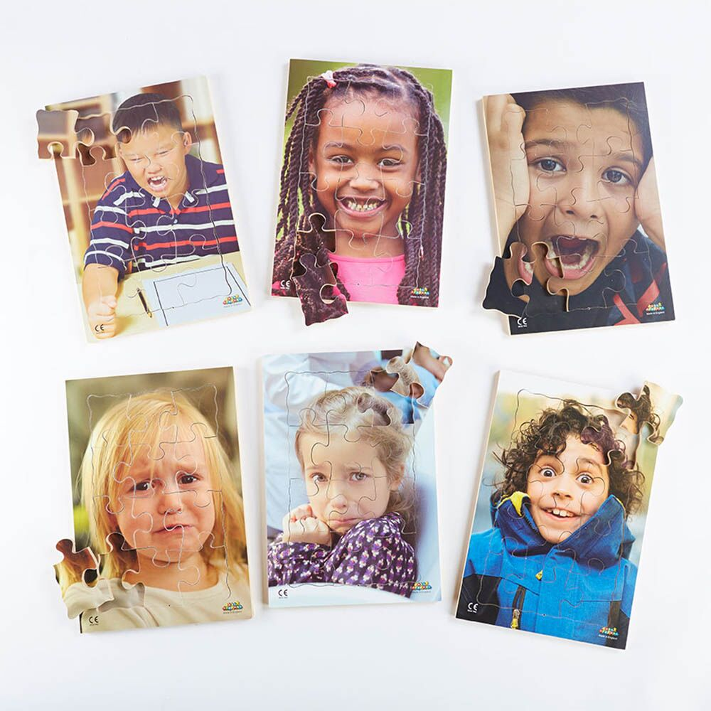 Photographic Emotions Jigsaw Puzzle 6pk