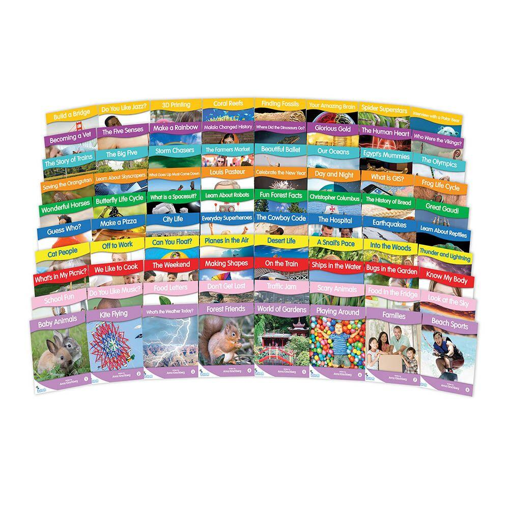 Fantails Non Fiction Library Book Packs