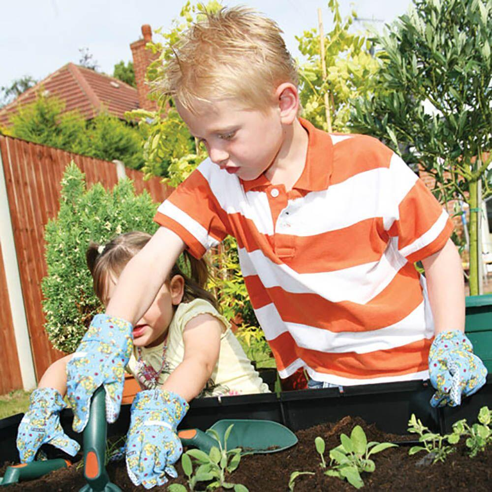 Child Size Gardening Gloves 5pk