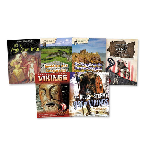 Viking and Anglo Saxon Books 6pk