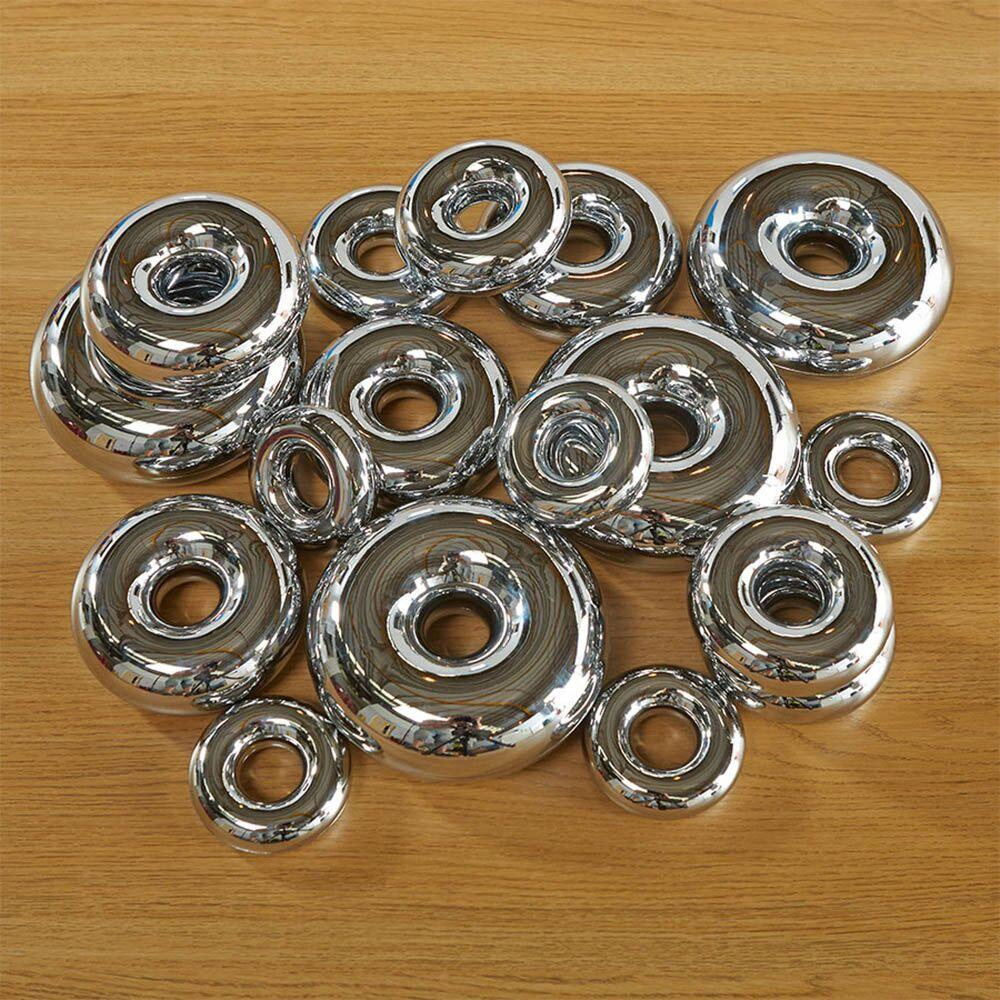 Marvellous Metallics Mirror Stacking Donuts 16pk