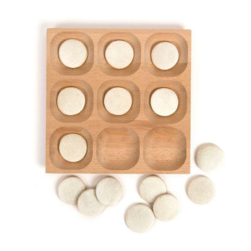 Natural Wooden Sorting Tray