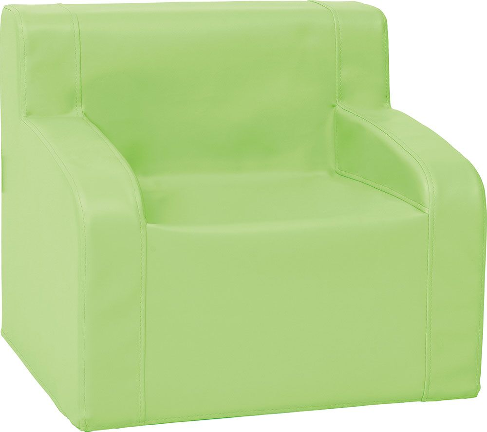 Colorful armchair - green