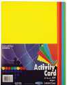 A4 160Gsm Activity Card 50 Sheets - Rainbow