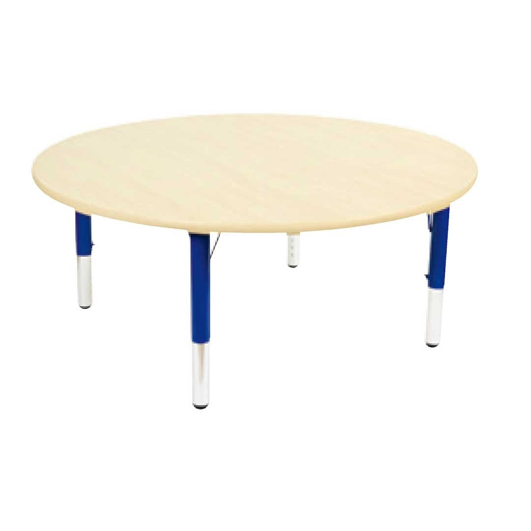Adjustable Maple Round Table