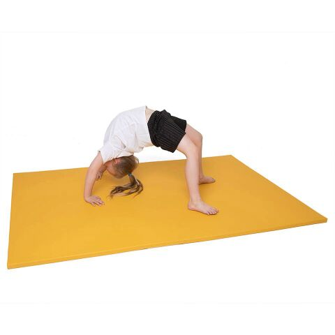 Lightweight Gym Mat 4ft x 3ft x 1.25'' Red
