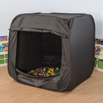 Pop-Up Sensory Space Black
