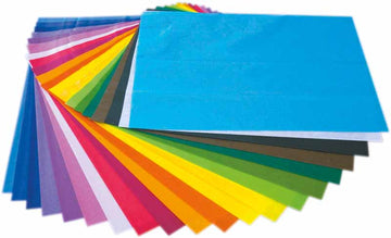Art Tissue Assort 20Pk / 20 Colours