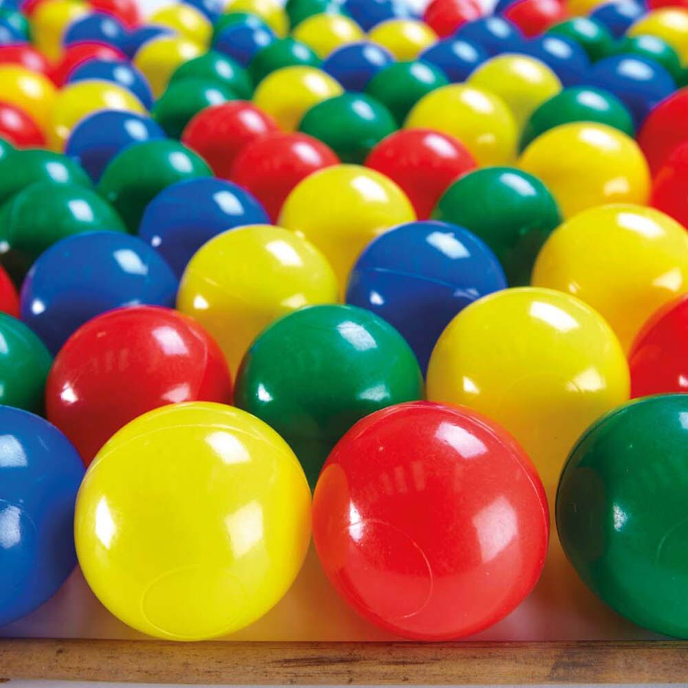 Plastic Ball Pool Balls 100pk