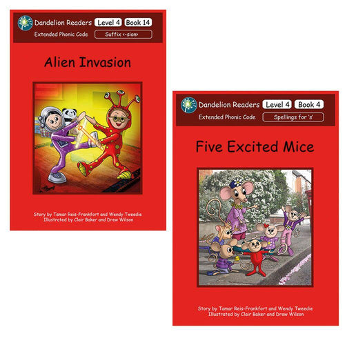Dandelion Phonic Readers Books Level 4