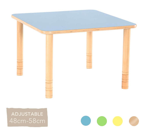 Flexi Square Table - 48-58cm - All Colours