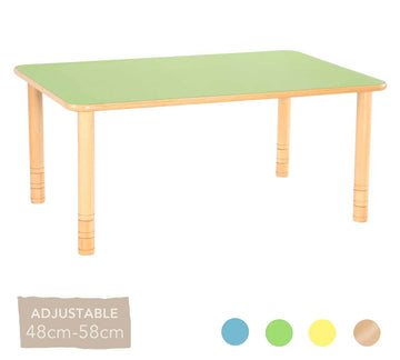 Flexi Rectangular Table - 48-58cm - All Colours