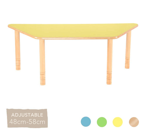 Flexi Trapezial Table - 48-58cm - All Colours