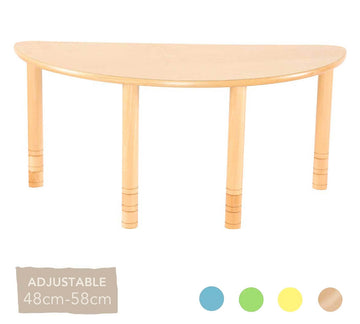 Flexi Half Round Table
