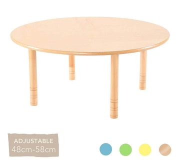 Flexi Round Table - 48-58cm - All Colours