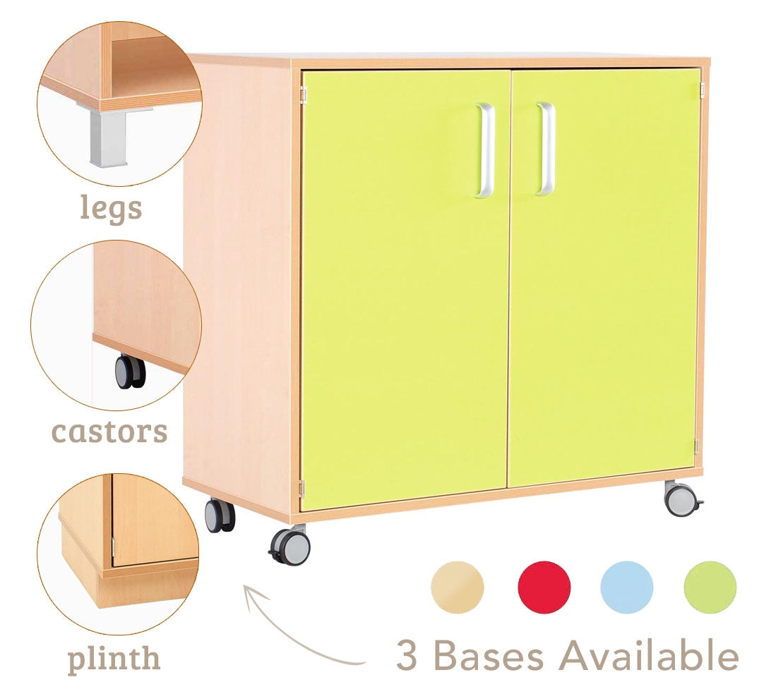 Flexi M cabinet with choice of Base - All Colours