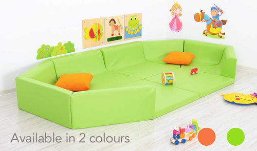Large opening Playpen-green