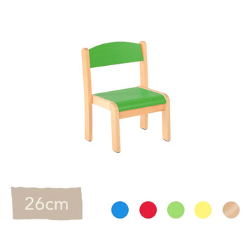 Philip Wooden Chair 26cm All Colours