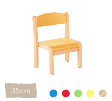 Philip Wooden Chair 35cm All Colours