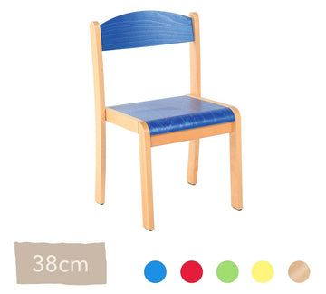 Philip Wooden Chair  38cm All Colours
