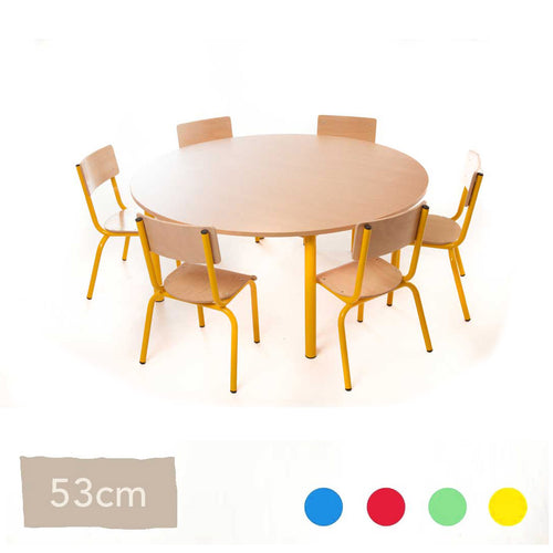 53cm Steel Table and Chairs