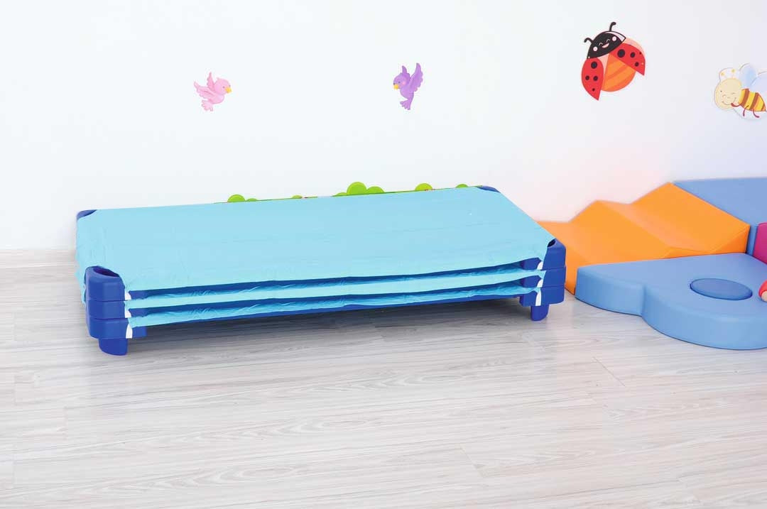 Special- Buy 3 stackable beds and get FREE sheets