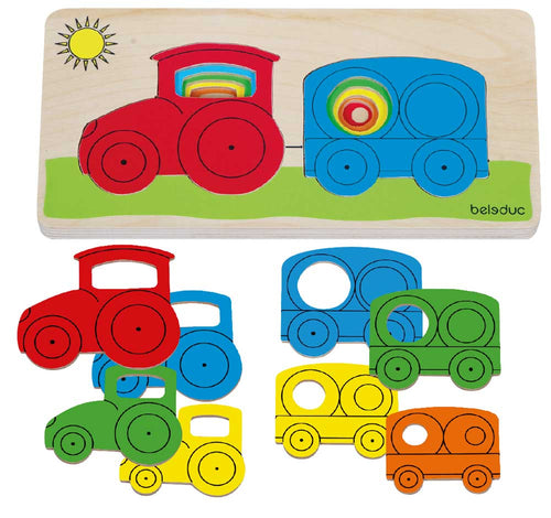 Tractor Layer Puzzle