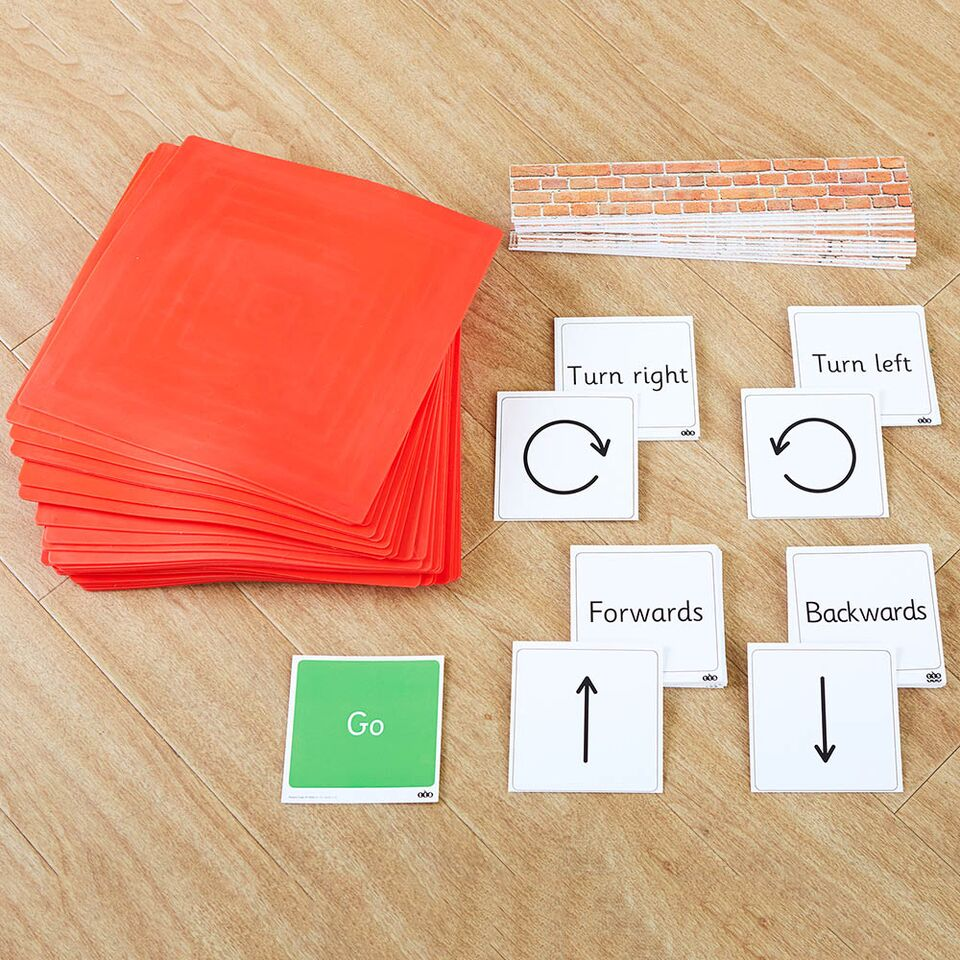 Physical Coding Mat and Cards Set
