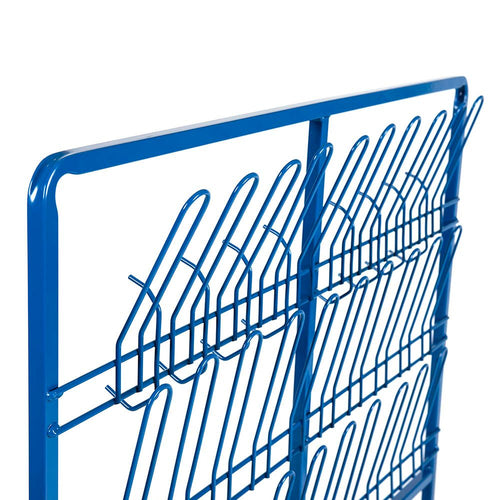 Double Sided Wellie Rack and Coat Rail