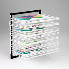 20 Shelf Wall Mounted Art Drying Rack