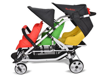 Lightweight Stroller - 3 Seater
