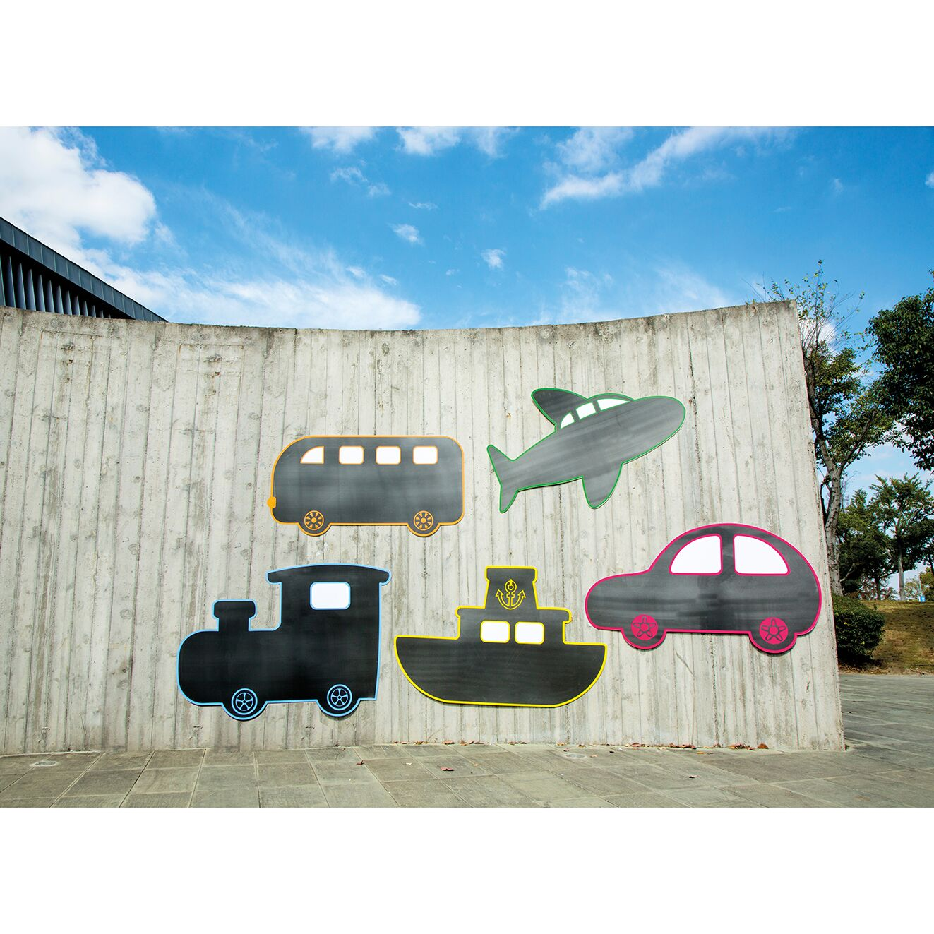 Transport Chalkboards 3mm