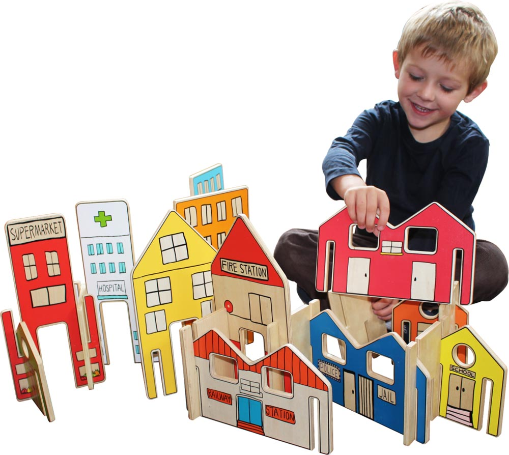 Happy Architect Town Set-26 pieces