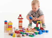100 wooden Block set