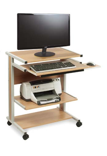 Compact Computer Workstation (adjustable height)