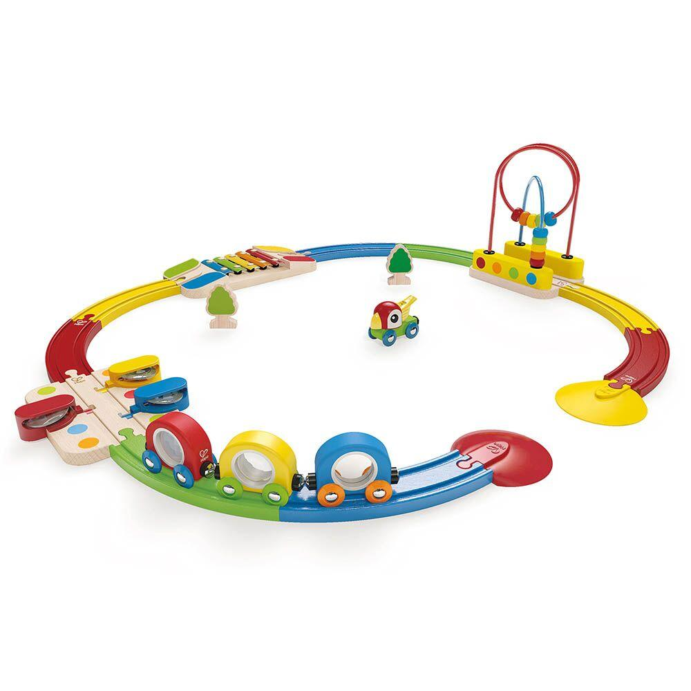 Toddler Rainbow Train Set